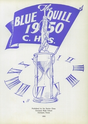 Page 5, 1950 Edition, Corrigan High School - Blue Quill Yearbook (Corrigan, TX) online yearbook collection