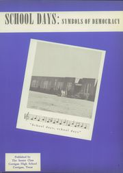 Page 11, 1952 Edition, Corrigan High School - Blue Quill Yearbook (Corrigan, TX) online yearbook collection