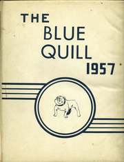 1957 Edition, Corrigan High School - Blue Quill Yearbook (Corrigan, TX)