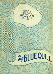 1959 Edition, Corrigan High School - Blue Quill Yearbook (Corrigan, TX)