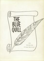 Page 5, 1959 Edition, Corrigan High School - Blue Quill Yearbook (Corrigan, TX) online yearbook collection