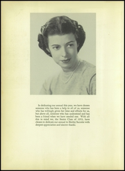 Page 8, 1953 Edition, Radford School - Ocotillo Yearbook (El Paso, TX) online yearbook collection