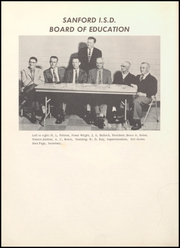 Page 12, 1956 Edition, Sanford Fritch Schools - Eagle Yearbook (Fritch, TX) online yearbook collection