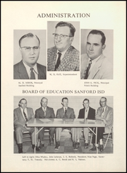 Page 10, 1957 Edition, Sanford Fritch Schools - Eagle Yearbook (Fritch, TX) online yearbook collection