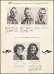 Page 16, 1949 Edition, McLean High School - Tumbleweed Yearbook (McLean, TX) online yearbook collection