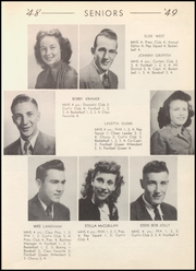 Page 17, 1949 Edition, McLean High School - Tumbleweed Yearbook (McLean, TX) online yearbook collection