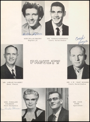 Page 10, 1956 Edition, McLean High School - Tumbleweed Yearbook (McLean, TX) online yearbook collection