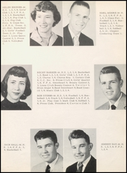 Page 17, 1956 Edition, McLean High School - Tumbleweed Yearbook (McLean, TX) online yearbook collection