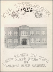 Page 5, 1956 Edition, McLean High School - Tumbleweed Yearbook (McLean, TX) online yearbook collection