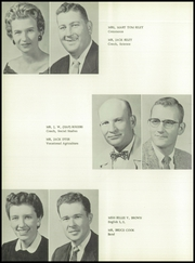 Page 12, 1957 Edition, McLean High School - Tumbleweed Yearbook (McLean, TX) online yearbook collection