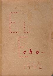 Page 1, 1942 Edition, Vera High School - El Echo Yearbook (Vera, TX) online yearbook collection
