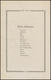 Page 12, 1925 Edition, Cathedral High School - En Avant Yearbook (Corpus Christi, TX) online yearbook collection