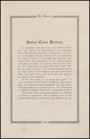 Page 17, 1925 Edition, Cathedral High School - En Avant Yearbook (Corpus Christi, TX) online yearbook collection