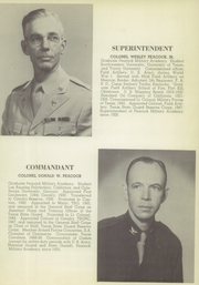 Page 7, 1949 Edition, Peacock Military Academy - Kadet Yearbook (San Antonio, TX) online yearbook collection