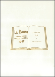 Page 13, 1942 Edition, Corpus Christi College Academy - Paloma Yearbook (Corpus Christi, TX) online yearbook collection
