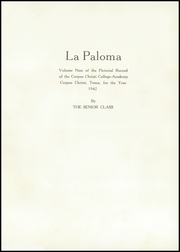 Page 7, 1942 Edition, Corpus Christi College Academy - Paloma Yearbook (Corpus Christi, TX) online yearbook collection