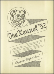 Page 7, 1952 Edition, Edgewood High School - Kennel Yearbook (Edgewood, TX) online yearbook collection