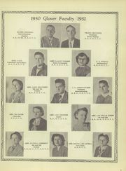 Page 11, 1951 Edition, Glover High School - Tomahawk Yearbook (Grapeland, TX) online yearbook collection