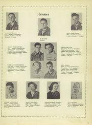 Page 13, 1951 Edition, Glover High School - Tomahawk Yearbook (Grapeland, TX) online yearbook collection