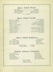 Page 8, 1951 Edition, Glover High School - Tomahawk Yearbook (Grapeland, TX) online yearbook collection