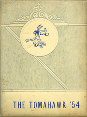 1954 Edition, Glover High School - Tomahawk Yearbook (Grapeland, TX)
