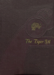 Page 1, 1954 Edition, Booker T Washington High School - Tiger Yearbook (Teague, TX) online yearbook collection