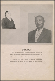 Page 11, 1954 Edition, Booker T Washington High School - Tiger Yearbook (Teague, TX) online yearbook collection
