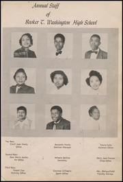 Page 9, 1954 Edition, Booker T Washington High School - Tiger Yearbook (Teague, TX) online yearbook collection