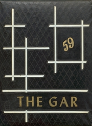 1959 Edition, Garwood High School - Gar Yearbook (Garwood, TX)