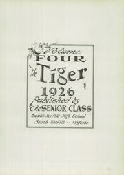 Page 9, 1926 Edition, South Norfolk High School - Tiger Yearbook (South Norfolk, VA) online yearbook collection