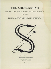 Page 7, 1959 Edition, Shenandoah High School - Shenandoah Yearbook (Shenandoah, VA) online yearbook collection