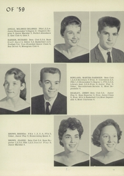 Page 17, 1959 Edition, Brosville High School - Topper Yearbook (Danville, VA) online yearbook collection