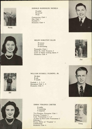 Page 15, 1941 Edition, Norton High School - Tendrils Yearbook (Norton, VA) online yearbook collection