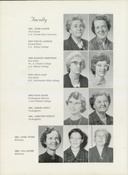 Page 16, 1962 Edition, West End Christian High School - Harvester Yearbook (Hopewell, VA) online yearbook collection