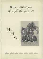 Page 5, 1959 Edition, Holland High School - Windmill Yearbook (Holland, VA) online yearbook collection