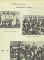 Page 17, 1953 Edition, Marymount School - Cormava Yearbook (Arlington, VA) online yearbook collection