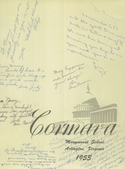 Page 3, 1953 Edition, Marymount School - Cormava Yearbook (Arlington, VA) online yearbook collection
