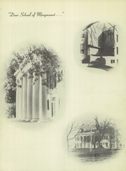 Page 6, 1953 Edition, Marymount School - Cormava Yearbook (Arlington, VA) online yearbook collection