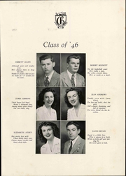 Page 17, 1946 Edition, Glen Allen High School - Panthian Yearbook (Glen Allen, VA) online yearbook collection