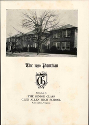 Page 9, 1946 Edition, Glen Allen High School - Panthian Yearbook (Glen Allen, VA) online yearbook collection