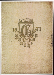1947 Edition, Glen Allen High School - Panthian Yearbook (Glen Allen, VA)