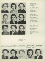 Page 16, 1951 Edition, Glen Allen High School - Panthian Yearbook (Glen Allen, VA) online yearbook collection