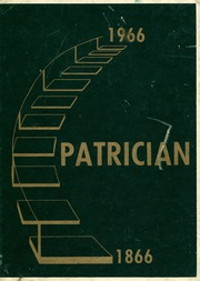 1966 Edition, St Patricks High School - Patrician Yearbook (Richmond, VA)