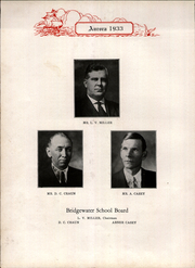 Page 16, 1933 Edition, Bridgewater High School - Aurora Yearbook (Bridgewater, VA) online yearbook collection