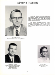 Page 10, 1961 Edition, Millboro High School - Spur Yearbook (Millboro, VA) online yearbook collection