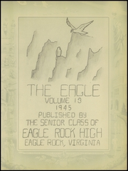 Page 9, 1945 Edition, Eagle Rock High School - Eagle Yearbook (Eagle Rock, VA) online yearbook collection