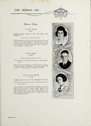 Page 13, 1922 Edition, Chase City High School - Mirror Yearbook (Chase City, VA) online yearbook collection