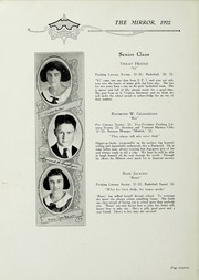 Page 16, 1922 Edition, Chase City High School - Mirror Yearbook (Chase City, VA) online yearbook collection