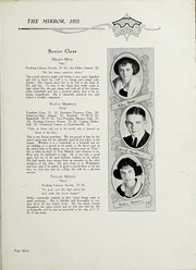 Page 17, 1922 Edition, Chase City High School - Mirror Yearbook (Chase City, VA) online yearbook collection
