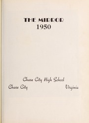 Page 7, 1950 Edition, Chase City High School - Mirror Yearbook (Chase City, VA) online yearbook collection
